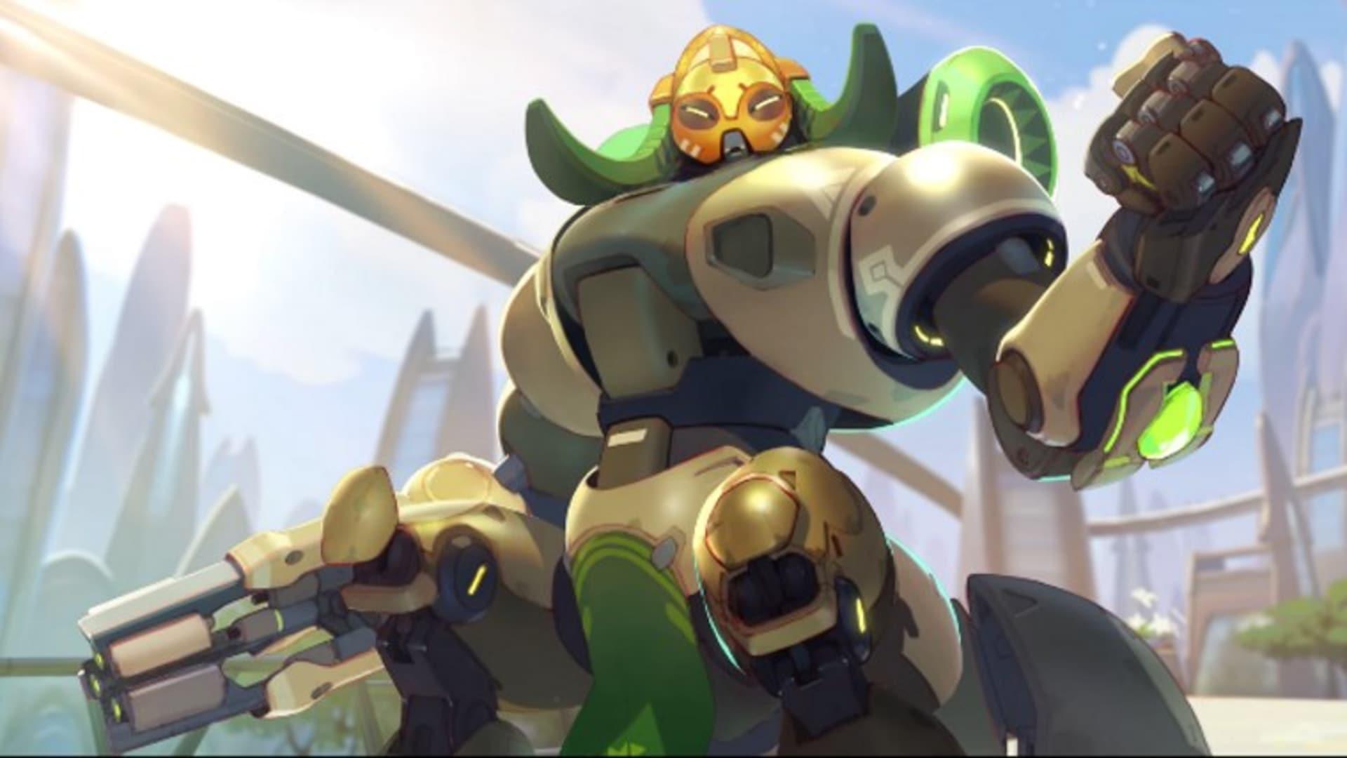 Nya Overwatch-hjälten Orisa dyker snart upp