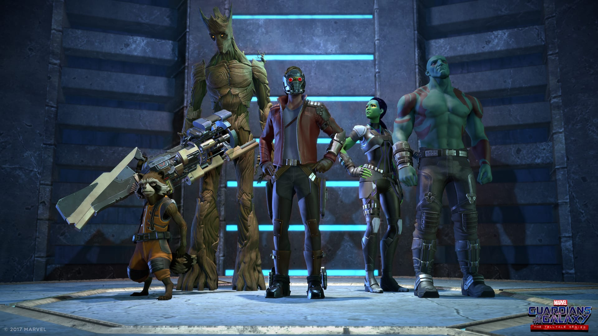 Trailer och datum för Telltales Guardians of the Galaxy