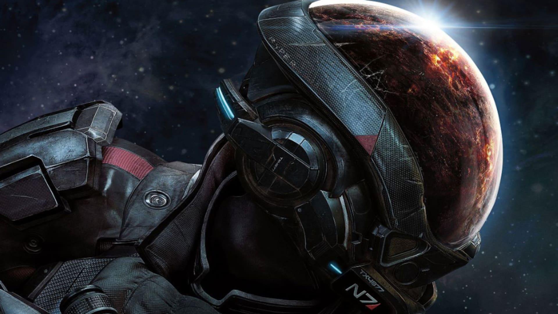 Se en freakin' timme från Mass Effect: Andromeda
