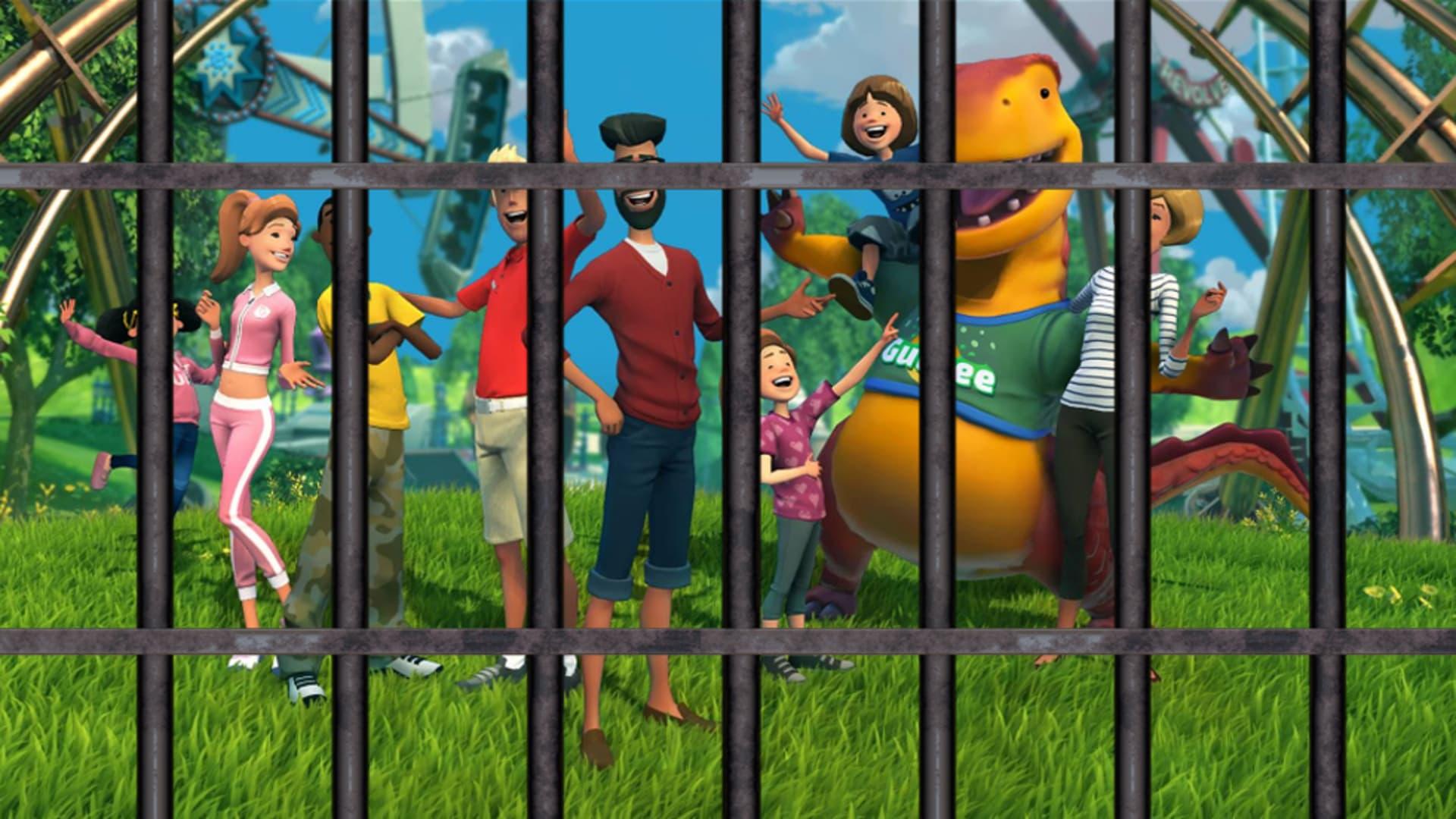 Slut på leken – kriminalitet på väg till Planet Coaster