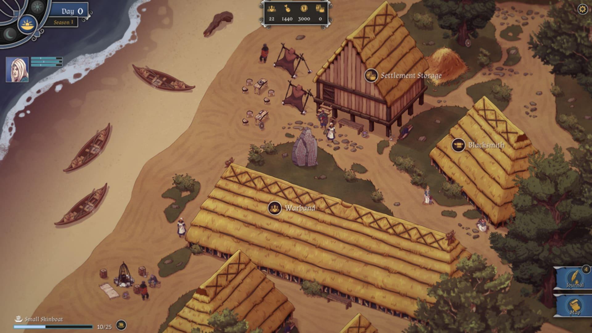 Vikingaspelet The Great Whale Road släpps snart