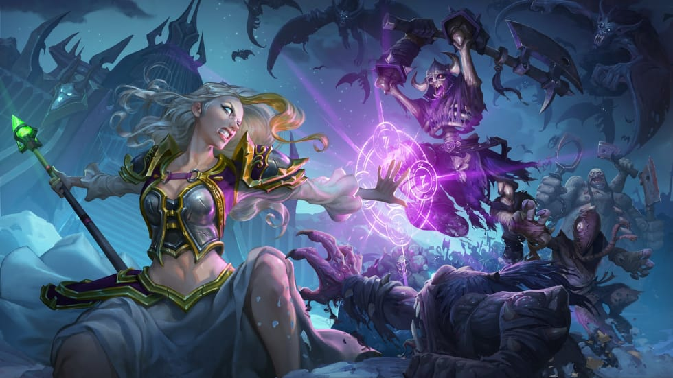 Hearthstone: Knights of the Frozen Throne släpps nästa vecka