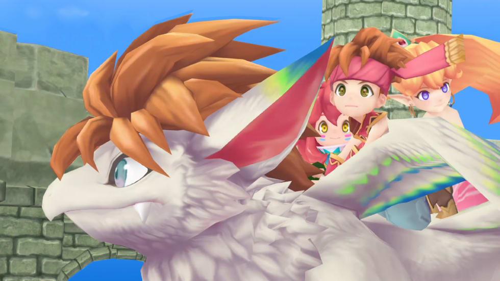En remake av Secret of Mana! I 3D! På Steam!