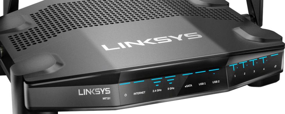 Högpresterande wifi-router med Killer-prioriterad motor