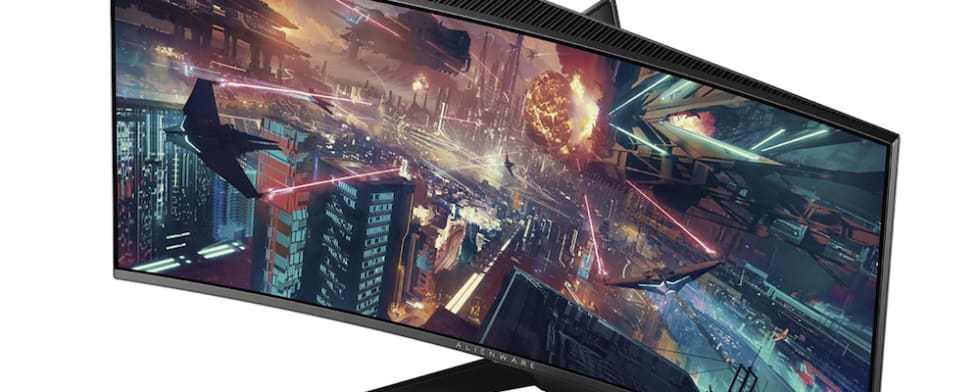 Alienware 34 Curved Gaming G-Sync Monitor: AW3418DW