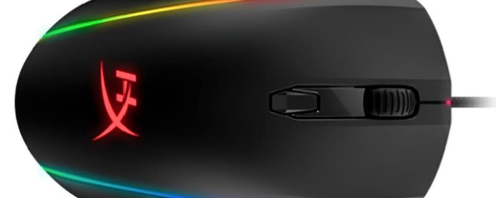 En 360 graders RGB-upplyst gamingmus