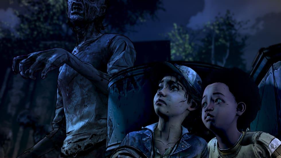 The Walking Dead: The Final Season visar upp första kvarten