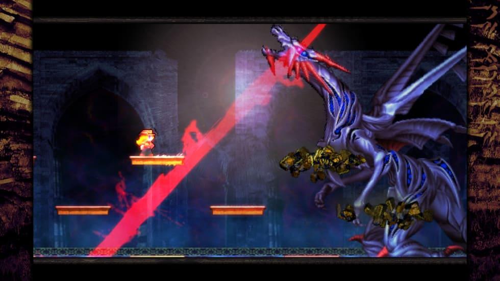 Skärmdump från La-Mulana 2.