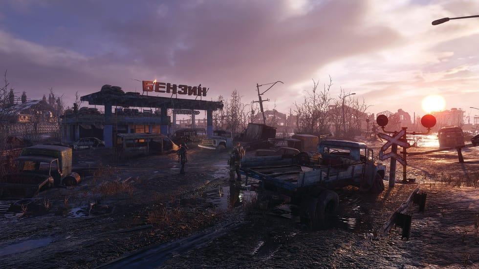 Skärmdump från Metro Exodus.