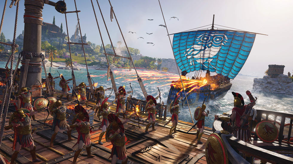 Bild från Assassin's Creed Odyssey.