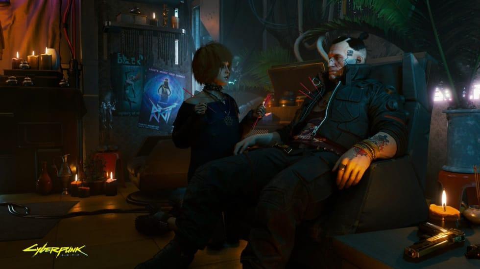 Cyberpunk 2077 visar upp sig i massiv gameplaydemo!