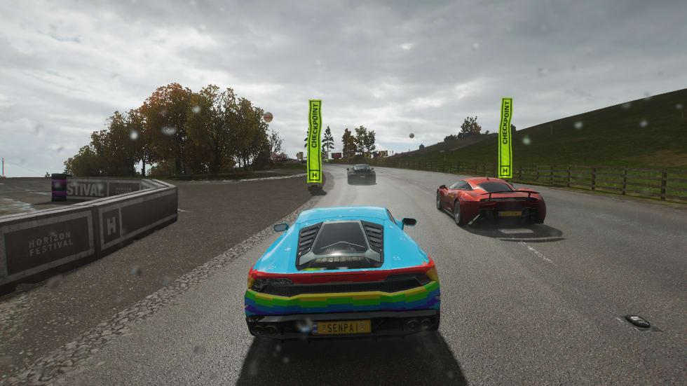 Bild från Forza Horizon 4.