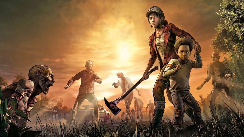 Tillbaka från de döda! The Walking Deads sista säsong fortsätter i januari