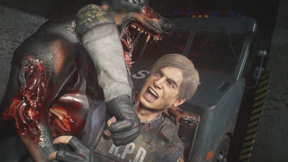 Bild från Resident Evil 2.