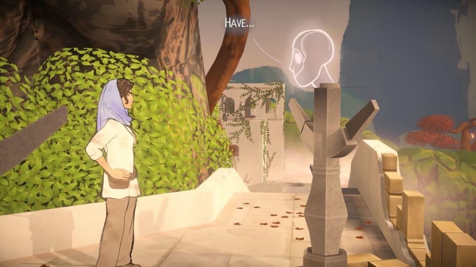 Bild från Heaven's Vault.