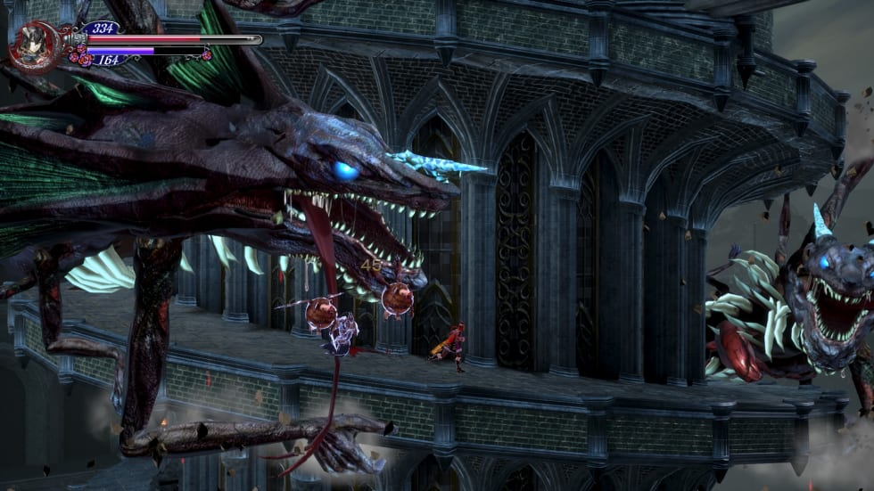 Bild från Bloodstained: Ritual of the Night.