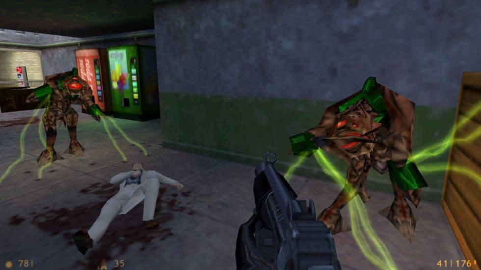 Över 20 år efter lanseringen har Half-Life fått en ny uppdatering