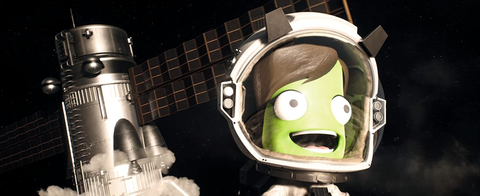 Bild från Kerbal Space Program 2.