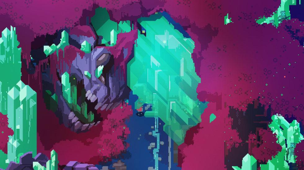 Bild från Hyper Light Drifter.
