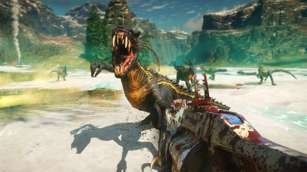 Dinoskjutaren Second Extinction visar upp sig i ny gameplay-video