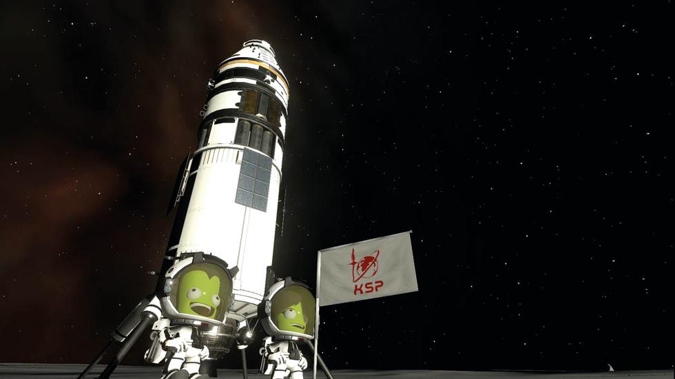 Bild från Kerbal Space Program 2.