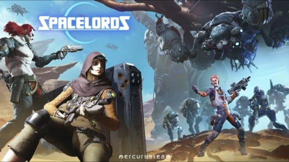 Raiders of the Broken Planet byter namn till Spacelords och går free-to-play