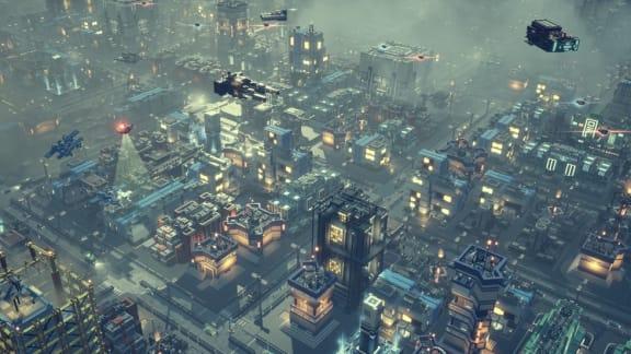 Cyberpunkiga stadsbyggaren Industries of Titan har early access-lanserats