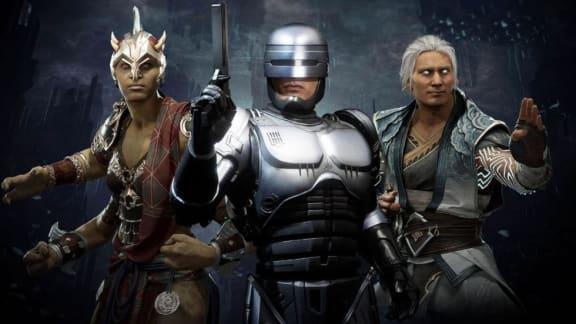 Robocop rensar upp i gameplay-trailer för Mortal Kombat 11: Aftermath