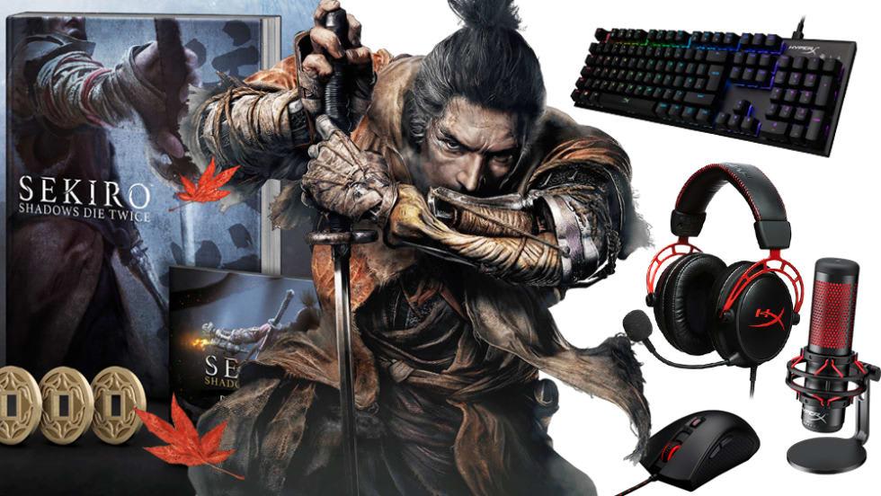 Dubbeltävling! Vinn maffiga HyperX Streamerkit och läckra Sekiro: Shadows Die Twice Collector's Edition!