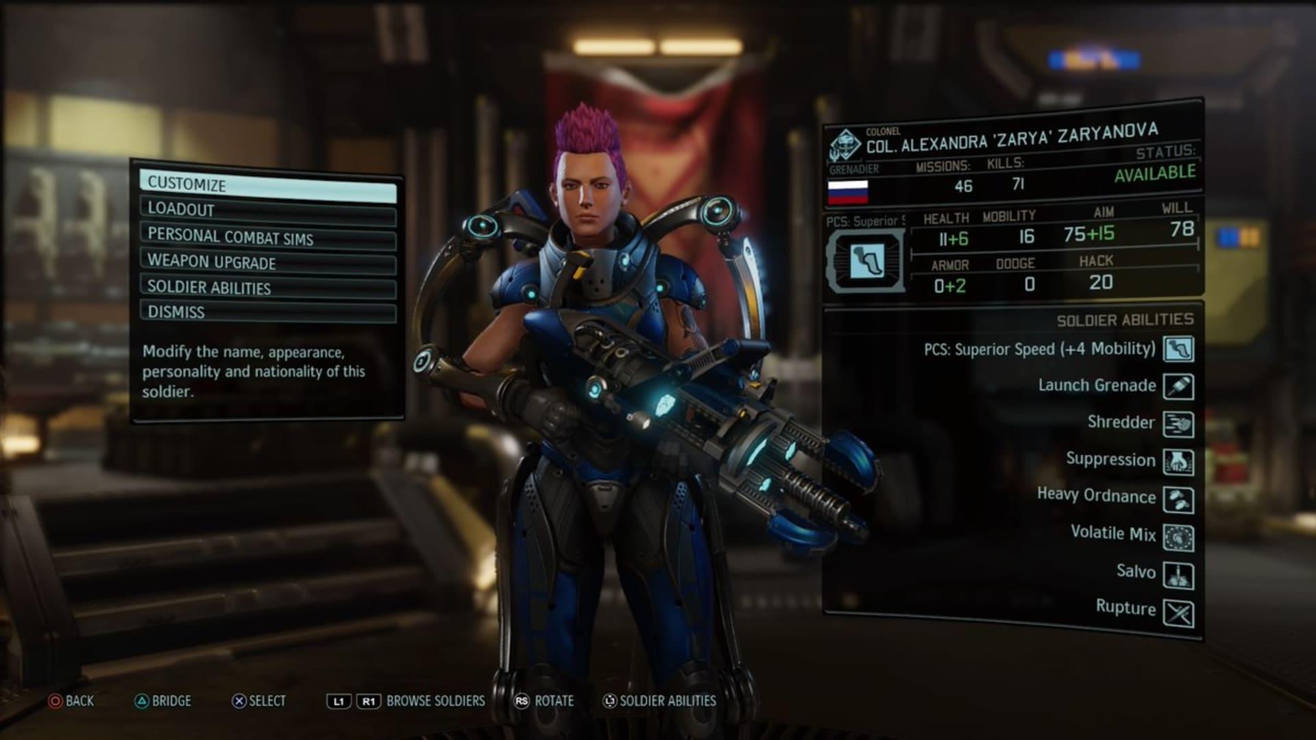 Overwatch-karaktärer återskapade i Xcom 2
