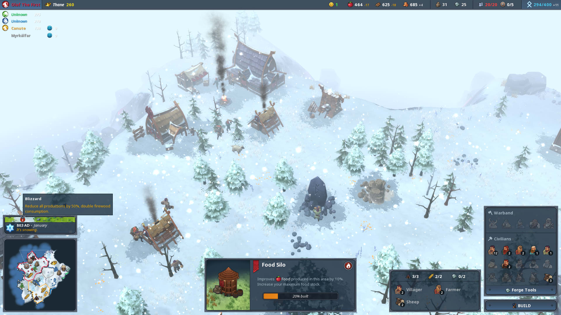 Northgard lanseras som early access
