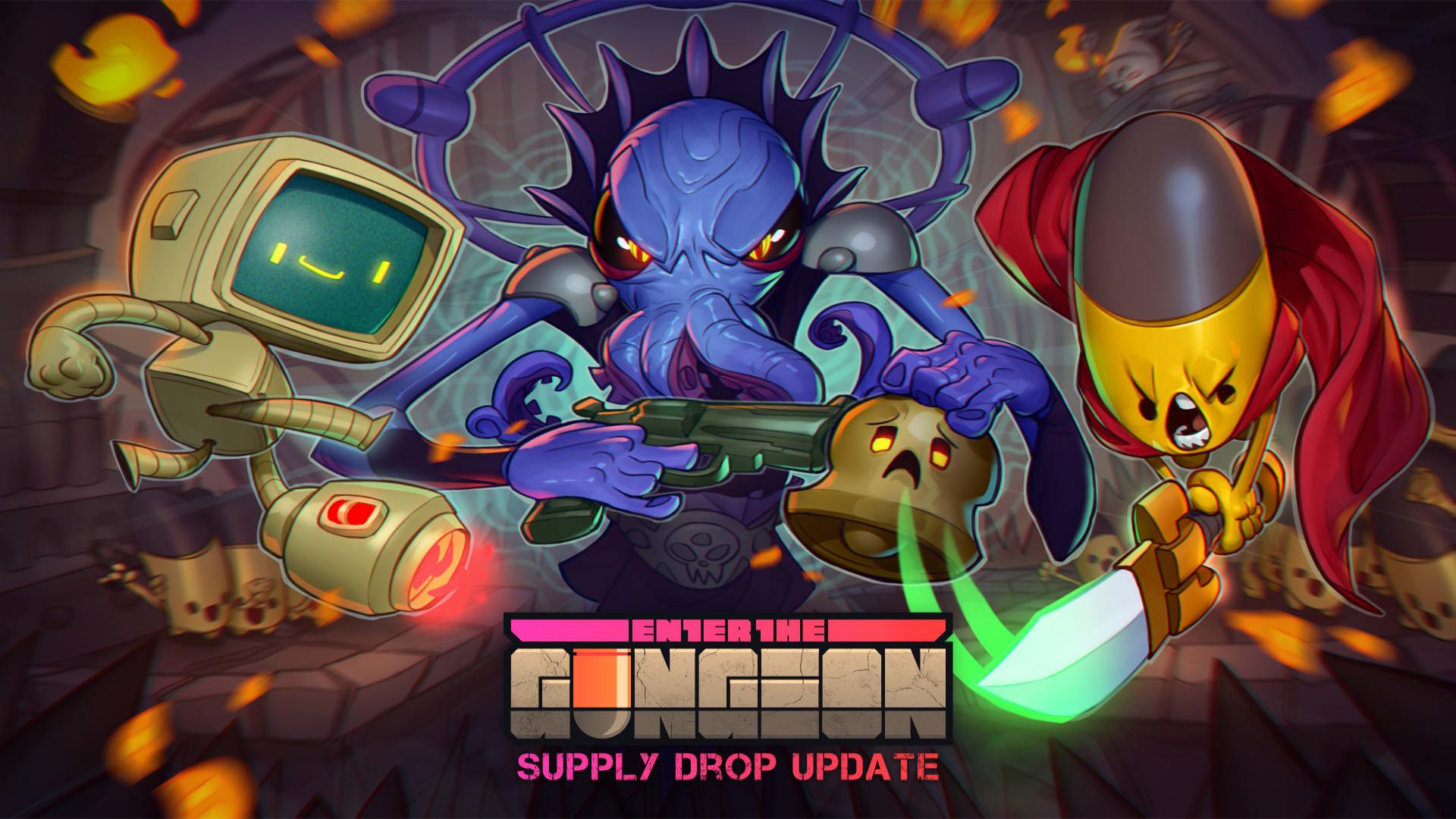 Stor rea och ny uppdatering för Enter the Gungeon