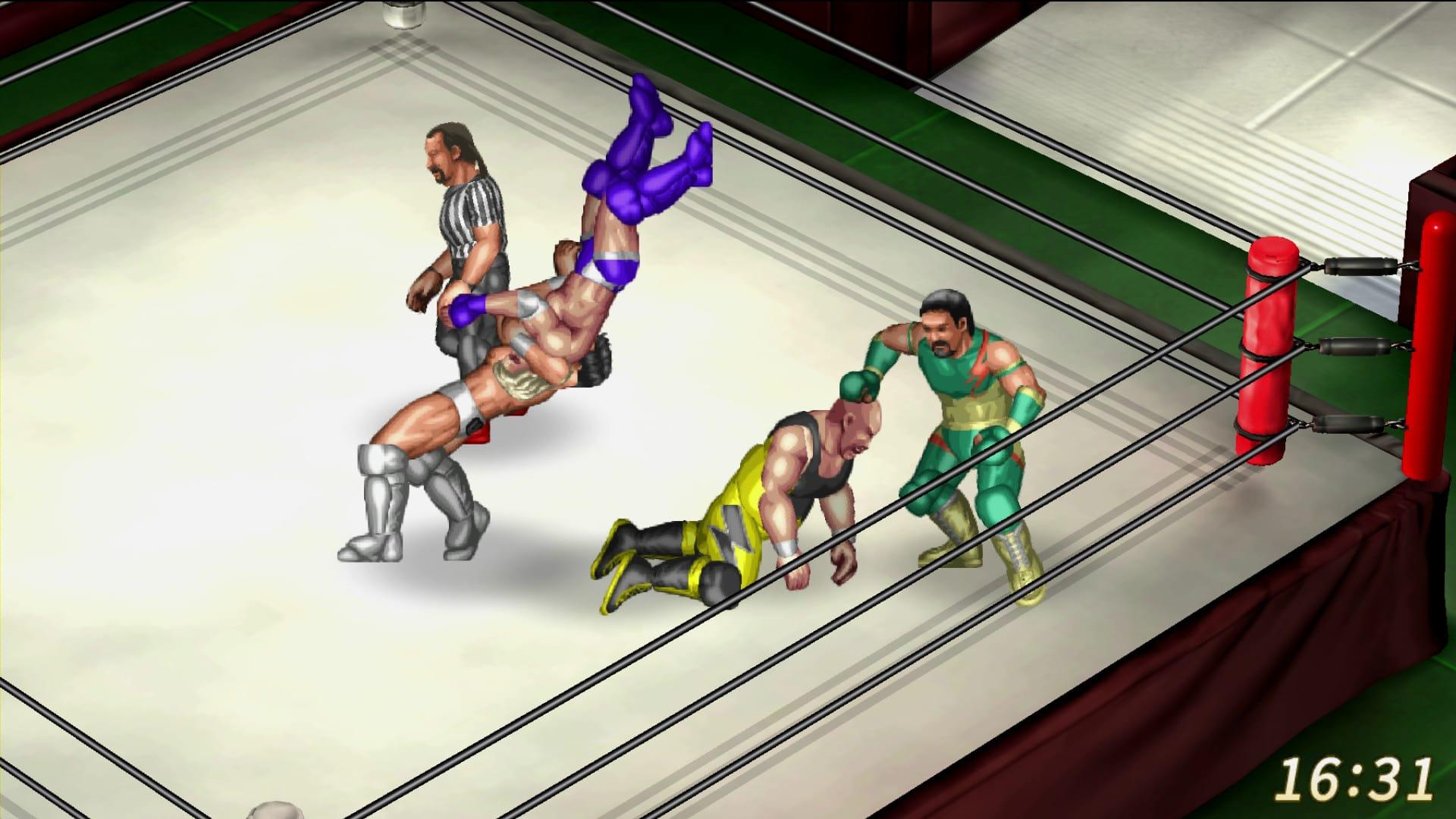 Fire Pro Wrestling World kommer till Steam