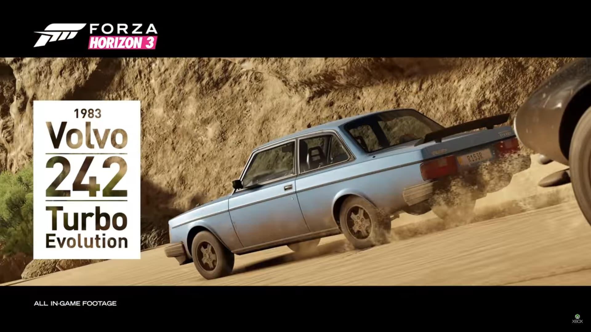 Kör en Volvo 242 i Forza Horizon 3