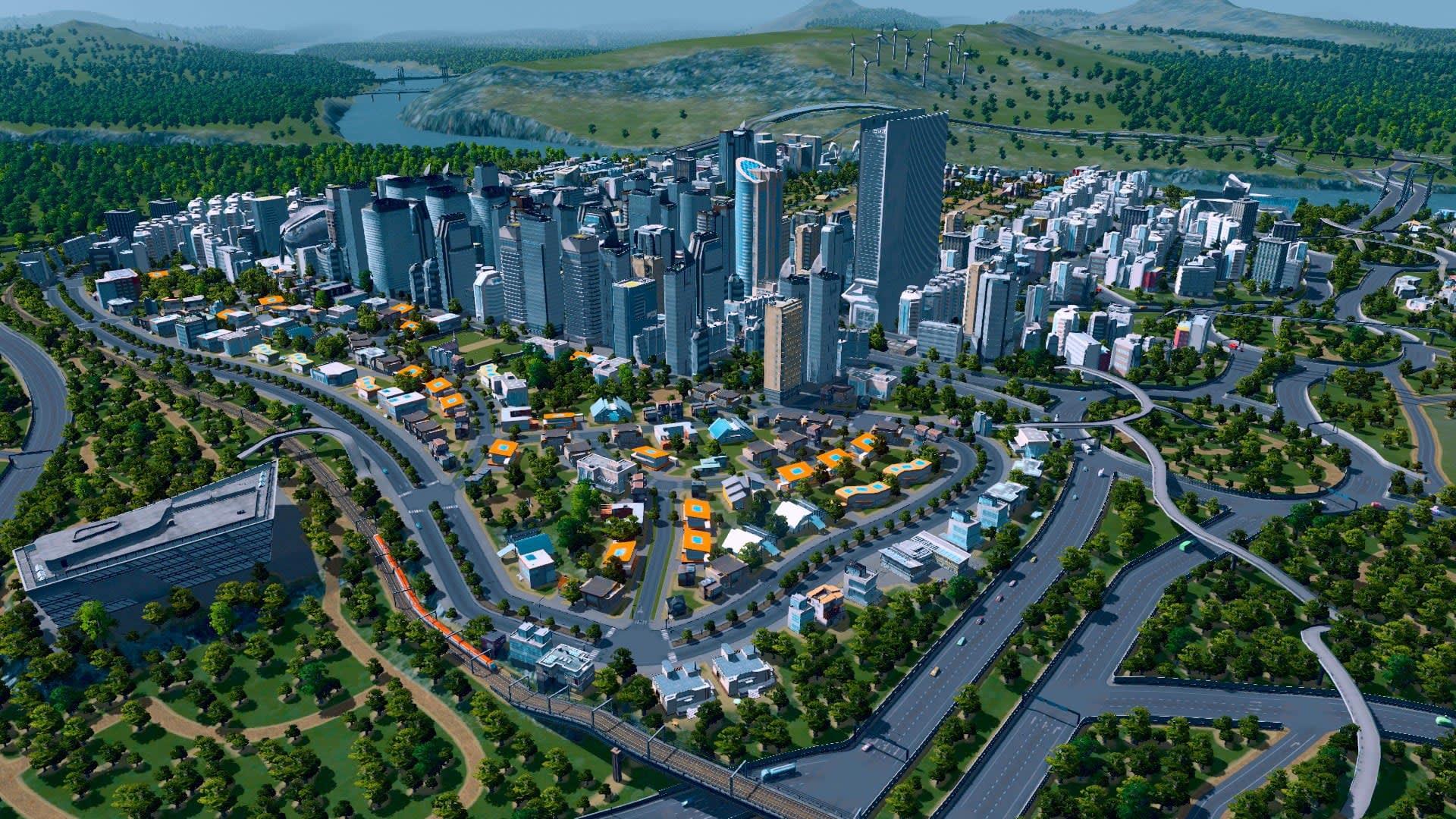 Cities: Skylines är gratis på Epic Games Store i ett dygn