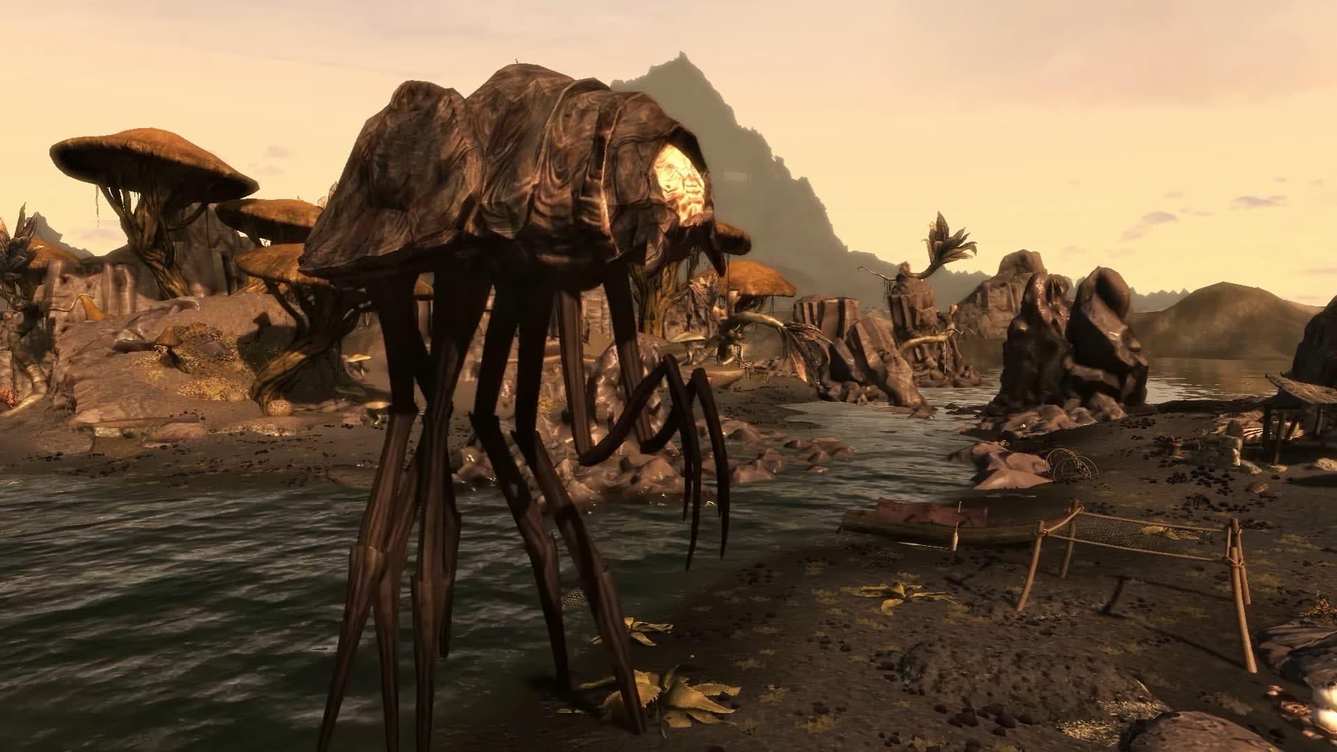 Ny titt på den fanutvecklade Morrowind-remaken Skywind