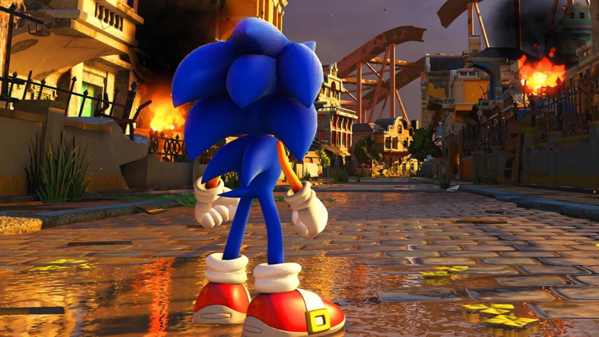 Gameplaypremiär för (skräpspelet!?) Sonic Forces