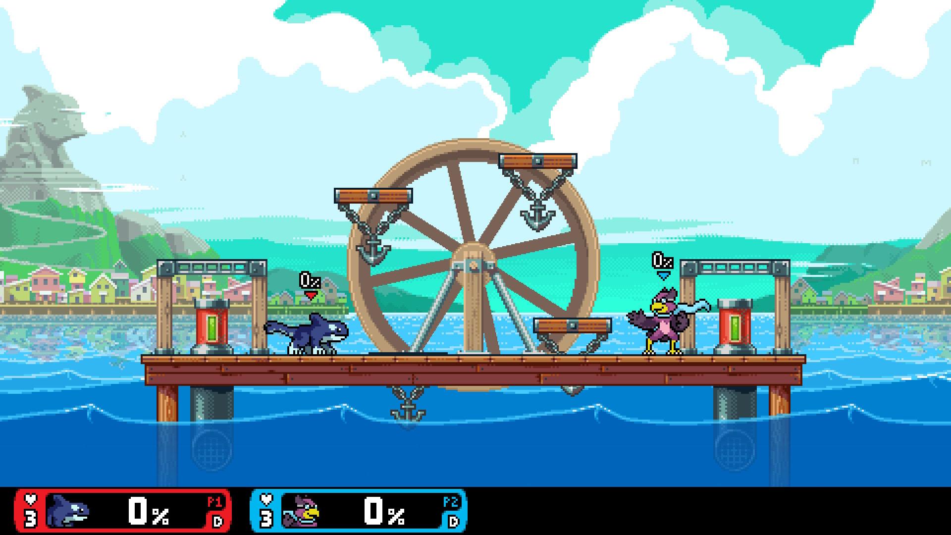 Som Super Smash Bros, fast på pc!