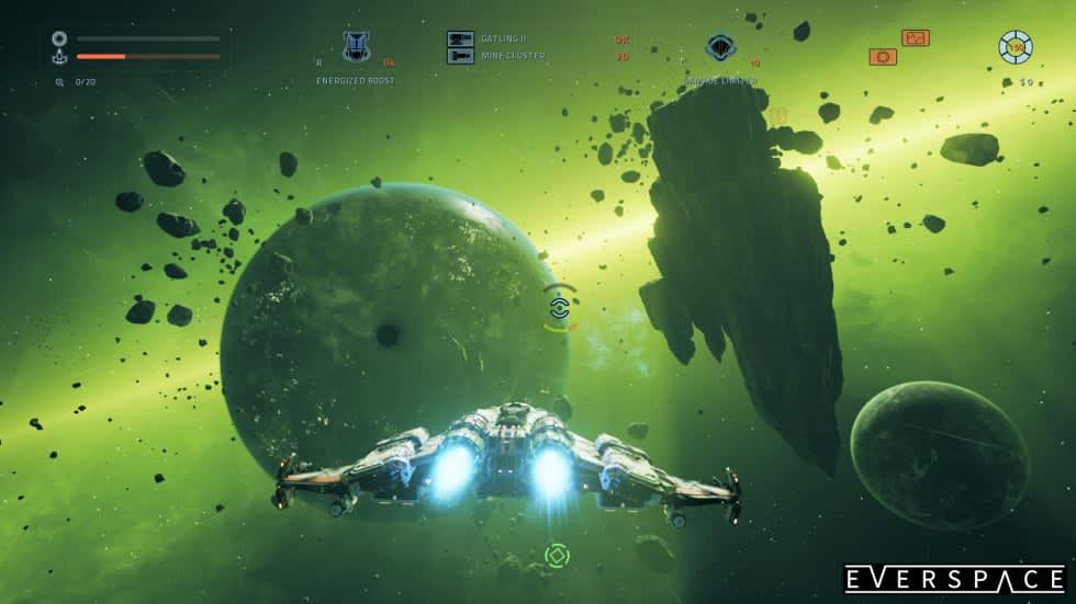 Lanseringstrailer för Everspace