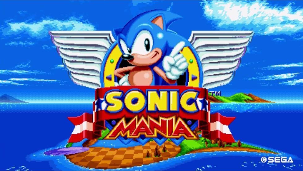 Knuckles visar upp sig i nytt Sonic Mania-klipp