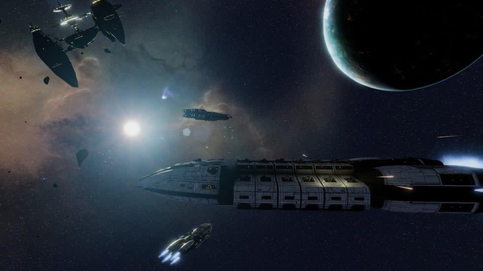 Plötsligt: ett strategispel baserat på Battlestar Galactica