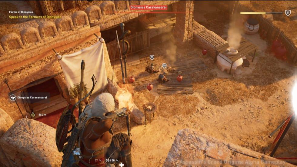 Ubisoft visar mer av striderna i Assassin's Creed: Origins