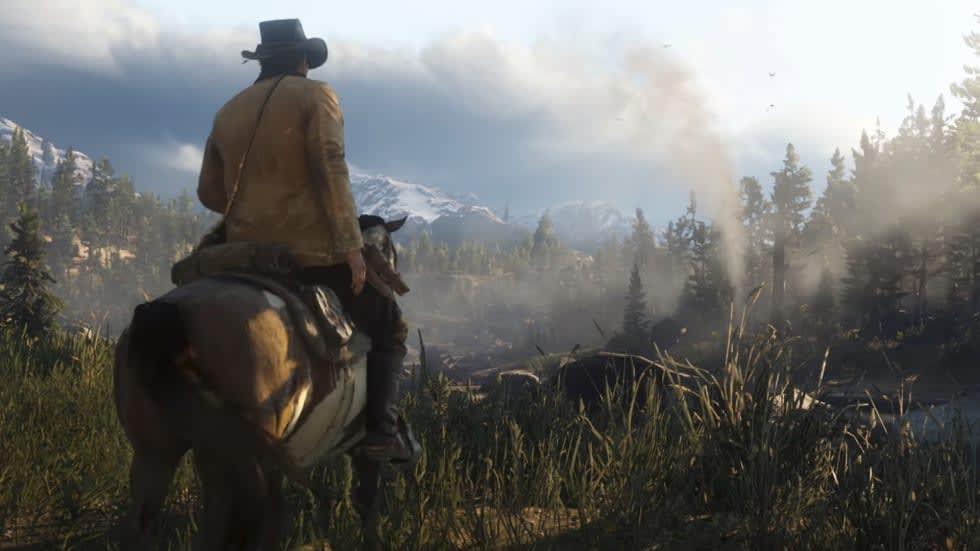 Här är den nya trailern för Red Dead Redemption 2