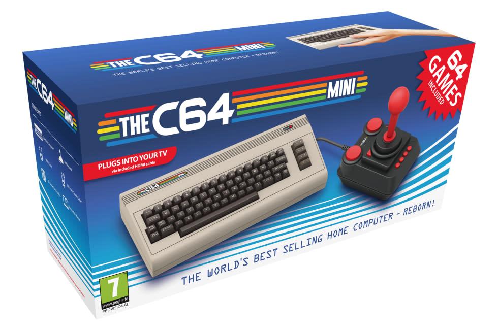 Nu har vi ett lanseringsdatum för C64 Mini