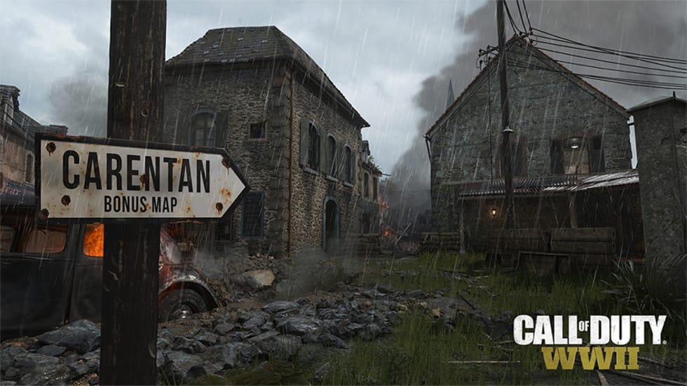 Här är en trailer för Carentan-kartan i Call of Duty: WWII