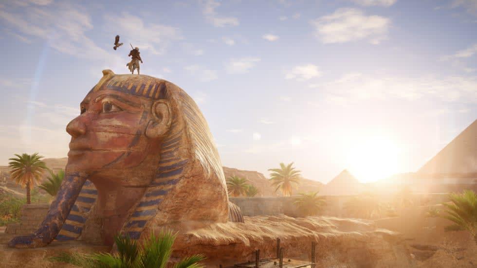 Asssasin's Creed Origins är gratis att provspela i helgen