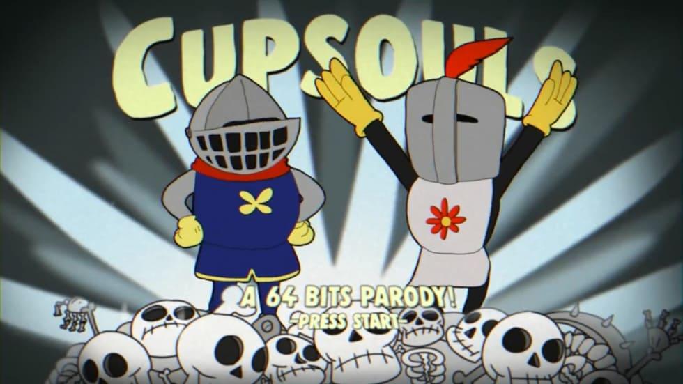 Cuphead möter Dark Souls i magisk fanvideo