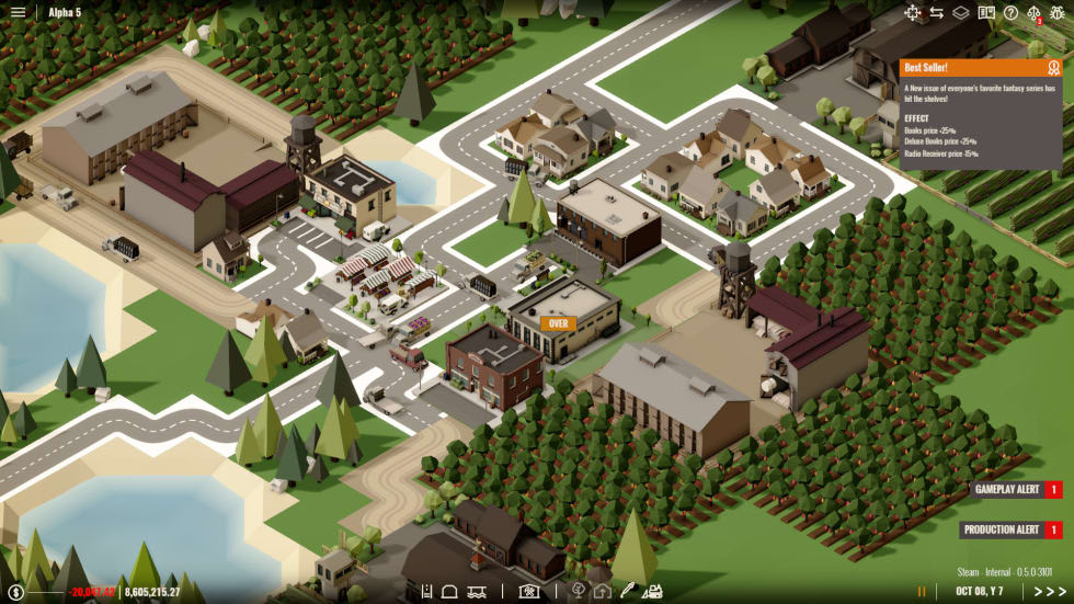 Nya managementspelet Rise of Industry har lanserats som early access