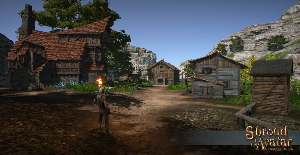 Ultima-inspirerade Shroud of the Avatar går free-to-play