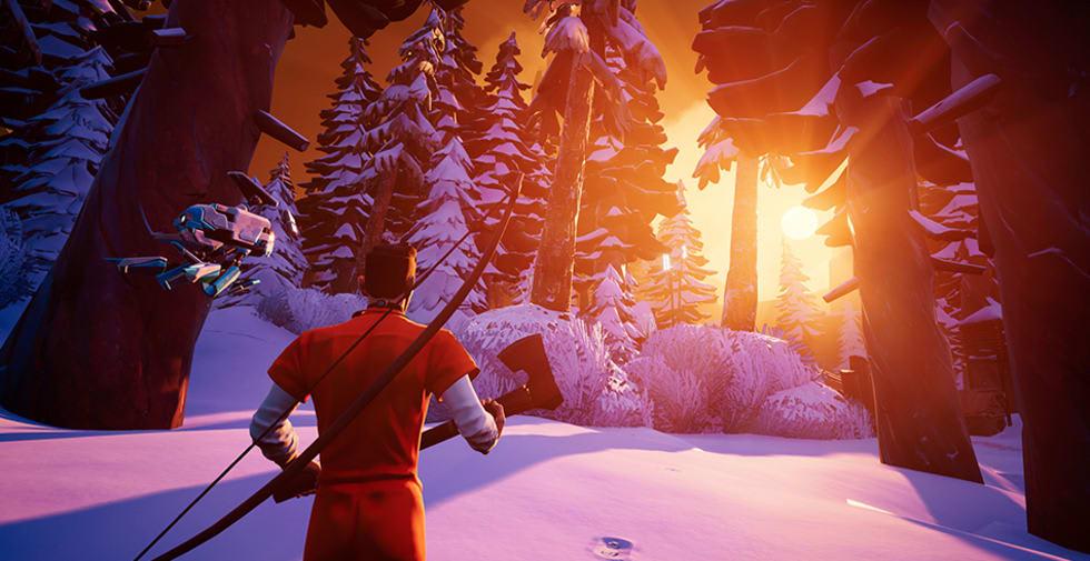 Snöiga battle royale-spelet Darwin Project är ute i early access nu